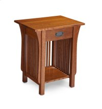 Prairie Mission Nightstand Table with Drawer Product Image