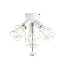 3 Light Industrial Fan Kit - WH WH