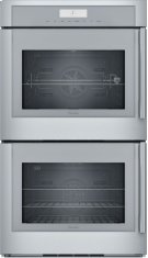 30-Inch Masterpiece® Double Wall Oven with Left Side Opening Door Product Image