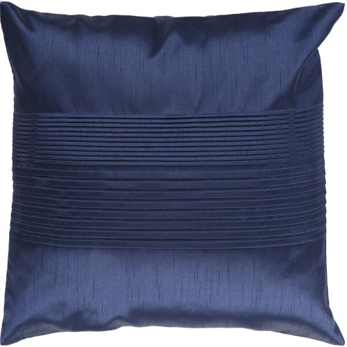 """Solid Pleated HH-029 22"""" x 22"""" Pillow Shell with Down Insert"""