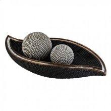 Sylvia Bowl W/ Spheres (2/box)