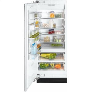 MieleK 1813 SF MasterCool refrigerator with high-quality features and maximum storage space for fresh food.