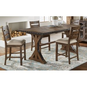 A AmericaGATHER HEIGHT TRESTLE TABLE