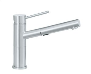 Blanco Alta Compact Pull-out Dual - Satin Nickel