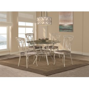 Hillsdale FurnitureNapier 5-piece Round Dining Table Set - Aged Ivory