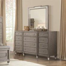 Dara Two - Twelve Drawer Dresser - Gray Wash Finish