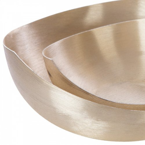 Taper Bowl Large in Brushed Gold