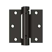 "3 1/2""x 3 1/2"" Spring Hinge - Oil-rubbed Bronze"