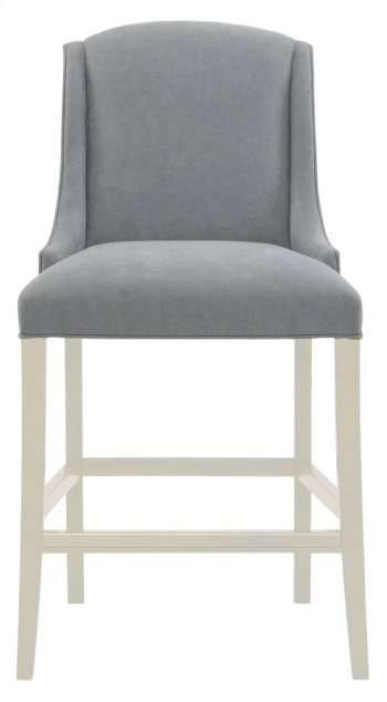 Slope Bar Stool in Chalk Product Image