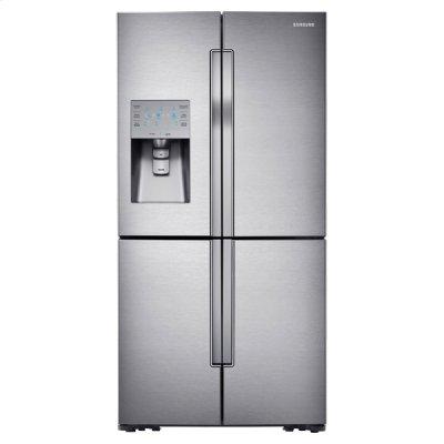 """36"""" Wide, 30 cu. ft. Capacity 4-Door Flex French Door Refrigerator with FlexZone Product Image"""
