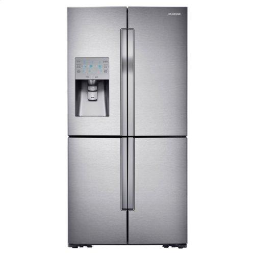 """36"""" Wide, 30 cu. ft. Capacity 4-Door Flex French Door Refrigerator with FlexZone"""