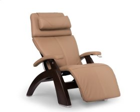 Perfect Chair PC-420 Classic Manual Plus - Sand Top Grain Leather - Dark Walnut