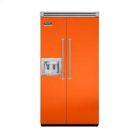 "Pumpkin 42"" Quiet Cool™ Side-by-Side with Dispenser - VISB Tru-Flush™ (42"" wide)"