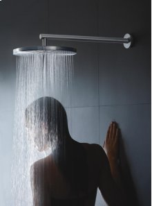 Head shower, round, wall-mounted - Grey