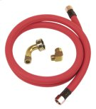 Universal Industrial-Grade 4' Dishwasher Water Supply Kit Product Image