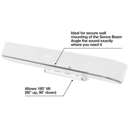 White- For wall or under-cabinet mounting, with tilt functionality.