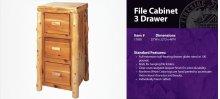File Cabinet - 3 Drawer
