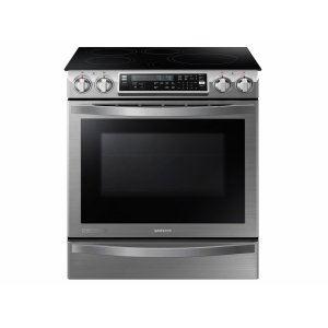 SAMSUNG5.8 cu. ft. Slide-In Induction Chef Collection Range with Flex Duo Oven