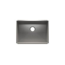 "UrbanEdge® 003666 - undermount stainless steel Kitchen sink , 24"" × 17"" × 10"""