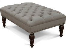 Anne Ottoman with Nails 3957N