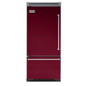 """Burgundy 36"""" Bottom-Mount Refrigerator/Freezer - VIBB (Left Hinge Door)"""