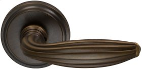Interior Traditional Lever Latchset in (US5A Antique Bronze, Unlacquered)