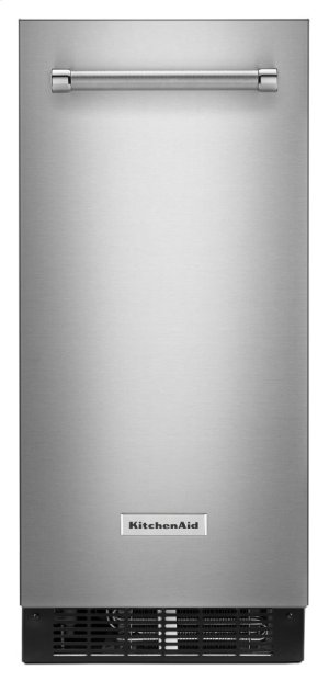 15'' Automatic Ice Maker with PrintShield Finish - PrintShield Stainless