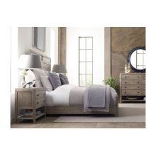 Roan Cal King Panel Bed - Complete