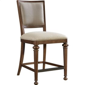 Cascade Upholstered Seat/Back Counter Stool
