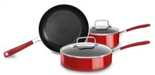 Aluminum Nonstick 5-Piece Set B - Empire Red