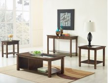 Westfield Wood 3Pk Contemporary Storage Occasional