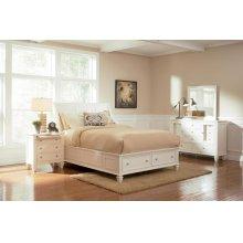 Sandy Beach White Queen Four-piece Bedroom Set