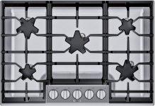 30-Inch Masterpiece® Pedestal Star® Burner Gas Cooktop SGSP305TS