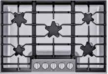 30-Inch Masterpiece® Pedestal Star® Burner Gas Cooktop SGSP305TS