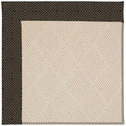 Creative Concepts-White Wicker Fortune Lava Machine Tufted Rugs