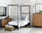 Framework Upholstered Canopy Youth Bedroom Product Image