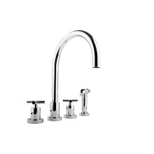 Infinity Kitchen Faucet w/ Side Spray