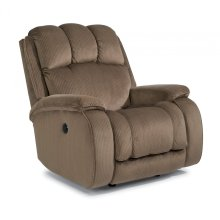 Huron Fabric Power Recliner