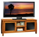 The Curve 60inch Console Golden Oak Product Image