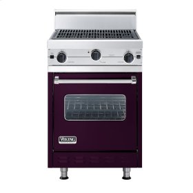 """Plum 24"""" Char-Grill Companion Range - VGIC (24"""" wide range with char-grill, single oven)"""