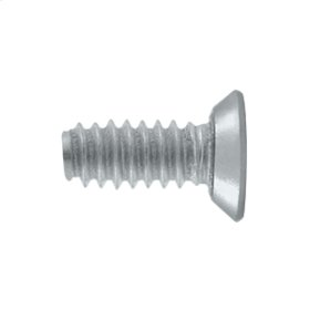 "Machine Screw, Steel, #10 x 1/2"" - Brushed Chrome"