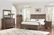 5 PC Bedroom - Queen Bed, Dresser, Mirror Product Image