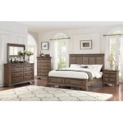 5 PC Bedroom - Queen Bed, Dresser, Mirror Product Image
