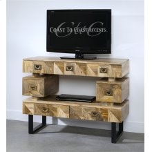 Coast to Coast 7 Drawer TV Stand