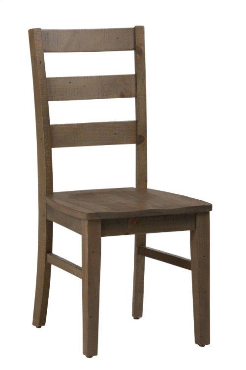 Slater Mill Pine Three Rung Ladderback Chair