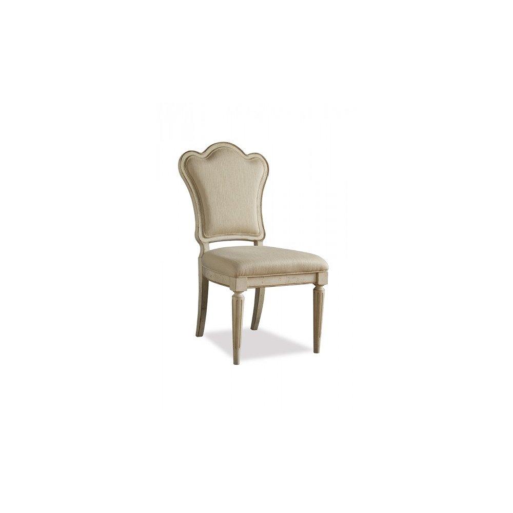 Provenance Upholstered Back Side Chair - Linen