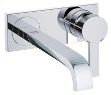 Allure Two-Hole Wall Mount Bathroom Faucet M-Size