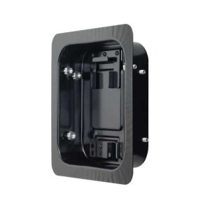 SanusBlack In-Wall Box for use with VSF415, LRF118 and MF215