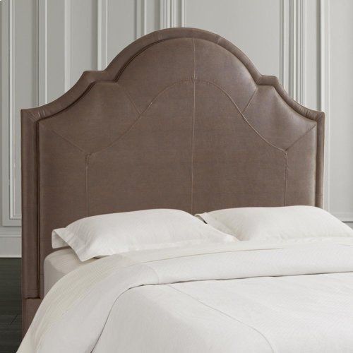 Custom Uph Beds Florence Clipped Corner Full Headboard