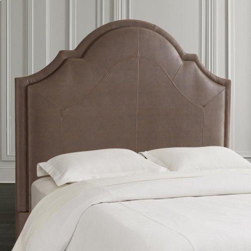 Custom Uph Beds Barcelona Bonnet Full Headboard